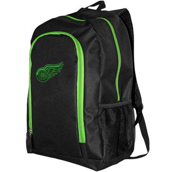 NHL Detroit Red Wings Neon Tracker Backpack