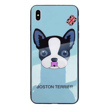 Boston Terrier Dog Protection Shell Soft Iphone