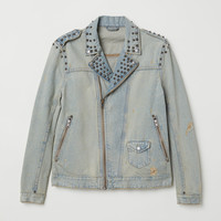 H&M Denim Jacket with Studs $79.99
