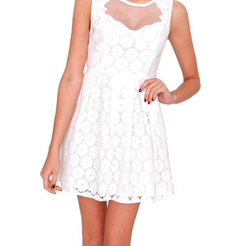 Sweet Heart Dress By Ark & Co. - White