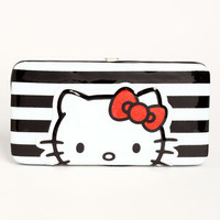 STRIPED HELLO KITTY WALLET
