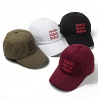 cc kuyou Pablo Embroidered Dad Cap