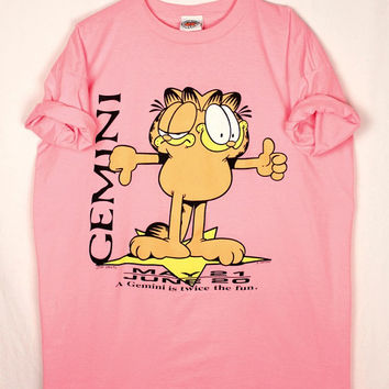 90s garfield sleepshirt // coverup // gemini