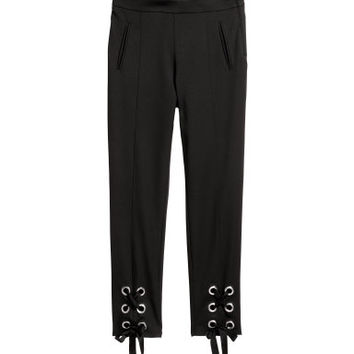 H&M Lace-up Pants $49.99