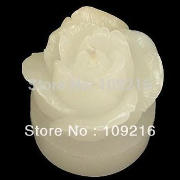 New Style 3D Small Rose (LZ0037)  Silicone Handmade Candle/Soap Mold Crafts DIY Mold