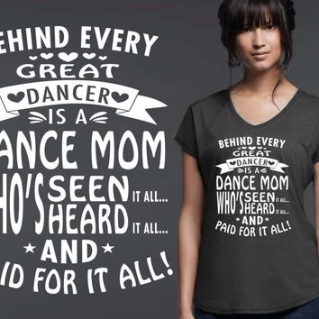 Dance Mom Personalized T-shirt