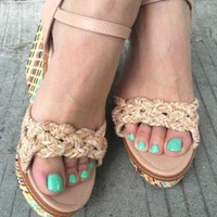 Sonya Wedge Sandal