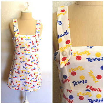 1970's Vintage Mini Tennis Dress
