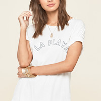 AMUSE SOCIETY - Play Nice Tee | Casablanca