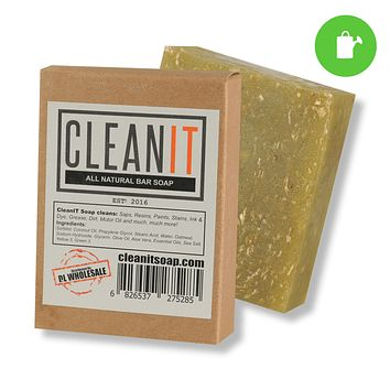 CleanIT Soap Bar for Scum Scrubbing