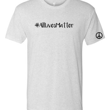 All Lives Matter Hastag Tshirt