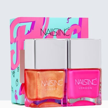 Nails inc Flock you Nail Polish Duo | Nails inc.US