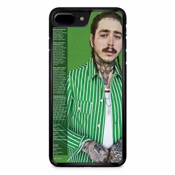 Post Malone Green iPhone 8 Plus Case