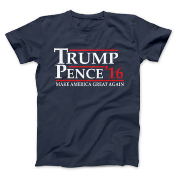 Trump Pence President 2016 Limited Edition Print T-Shirt