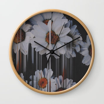A little pretty, A little Messed up Wall Clock by duckyb