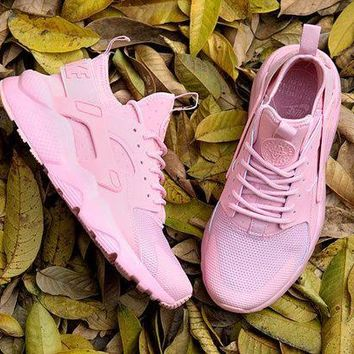 DCCKO03T Nike Air Huarache 4 PINK Women running shoes 36-40