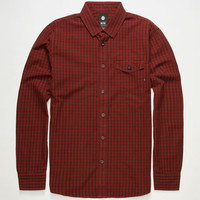 Element Cambridge Mens Shirt Red  In Sizes