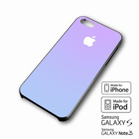 Gradient Fade Purple Blue iPhone case 4/4s, 5S, 5C, 6, 6 +, Samsung Galaxy case S3, S4, S5, Galaxy Note Case 2,3,4, iPod Touch case 4th, 5th, HTC One Case M7/M8