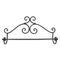 Black Brown Wall Towel Rack | Shop Hobby Lobby