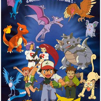 Pokemon Gotta Catch 'Em All Cast Poster 11x17