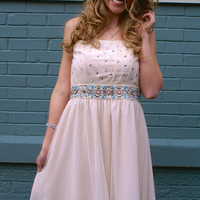 A Thousand Wishes Dress: Cream