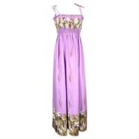 mina lavender hawaiian maxi dress