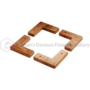 Whitecap Teak Cooler/Box Chocks - 4 Pack