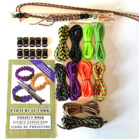 Parachute Cord Survival Bracelet DIY Christmas Mini Travel Jig Craft Kit