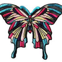 XXL Extra Large 20cm Butterfly Patch Badge Applique