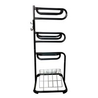 Three Tier Saddle Rack with Vented Blanket Rack - Tractor Supply Co.