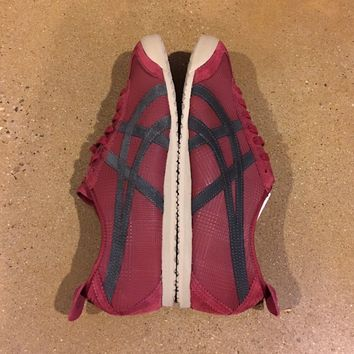 Onitsuka Tiger by Asics Mexico 66 Size 12.5 US Wine Dark Grey Running Shoes
