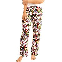 Winnie the Pooh and Freinds Plush Minky Women's Lounge Pants