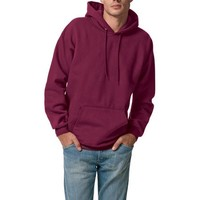 Hanes Men's Hanes Ultimate Cotton Fleece Pullover Hood - Walmart.com