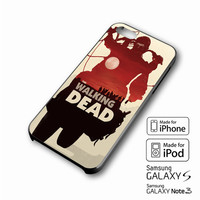 The Walking Dead Art 2 iPhone case 4/4s, 5S, 5C, 6, 6 +, Samsung Galaxy case S3, S4, S5, Galaxy Note Case 2,3,4, iPod Touch case 4th, 5th, HTC One Case M7/M8