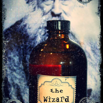 THE WIZARD-Hand Blended Artisan Oil-1ML Sample Vial-(primary notes: patchouli, cedarwood, blood oranges, white sage)