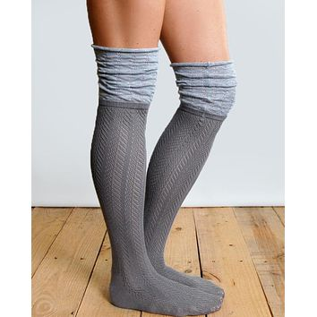 Grace & Lace Slouch Top Boot Sock