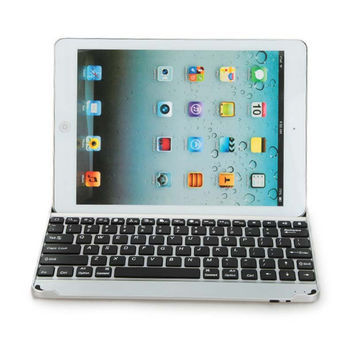 Russian & Special Letter Ultra Slim ABS Wireless Bluetooth Keyboard Dock Cover Case For Apple iPad Air 2 iPad 6 9.7 inch Tablet