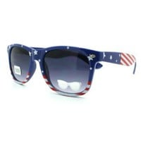 Amazon.com: American Flag USA Patriot Wayfarer Sunglasses: Clothing