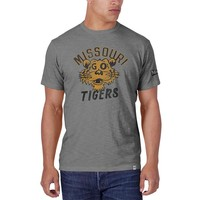'47 Brand Missouri Tigers Mens Short Sleeve Fashion T-Shirt - Grey