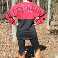 Bling Georgia Spirit Jersey (RUNS BIG)