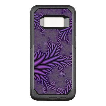 fractal colored abstract OtterBox commuter samsung galaxy s8 case
