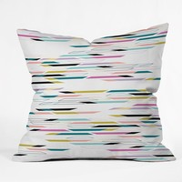 Khristian A Howell Studio 54 In White Throw Pillow