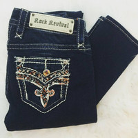 ROCK REVIVAL NICCI MS MID-RISE SKINNY JEANS