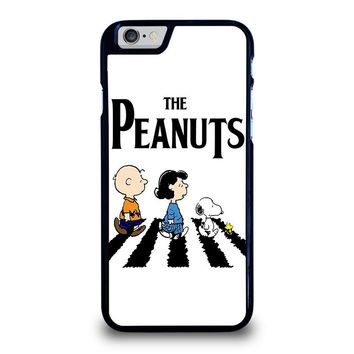 THE PEANUTS SNOOPY CHARLIE BROWN BEATLES iPhone 6 / 6S Case Cover