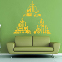 Triforce Treasure Trove - Legend of Zelda Wall Decal