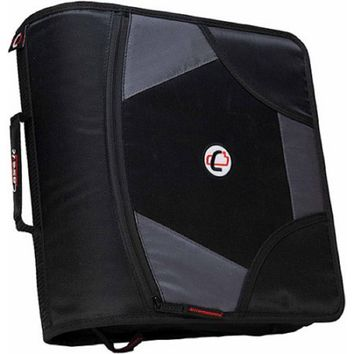"Case-It D-186 4"" Solid Zipper Binder"