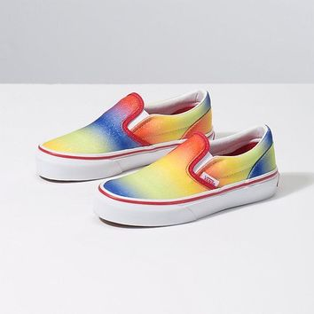 Vans Y Classic Slip On(RnbwGltr)Rainbw