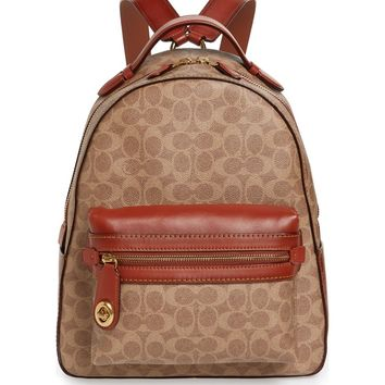 COACH 1941 Signature Canvas Campus Backpack | Nordstrom
