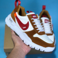 DCCK N568 Nike Mars Yard 2.0 Off White Sports Casual Shoes Brown