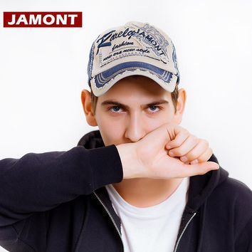 Trendy Winter Jacket [JAMONT]Fall Baseball Cap Men Women Hat Snapback Caps Gorras Cotton Patch Distressed Trucker Hat Bone Masculino Casquette Homme AT_92_12